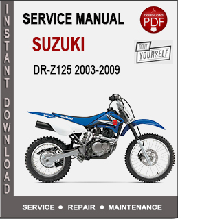 Suzuki DR-Z125 2003-2009