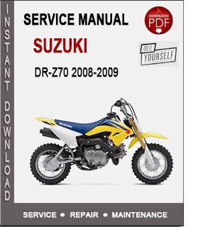 Suzuki DR-Z70 2008-2009