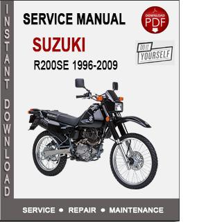 Suzuki DR200SE 1996-2009