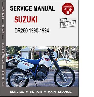 Suzuki DR250 1990-1994