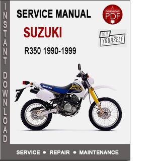 Suzuki DR350 1990-1999
