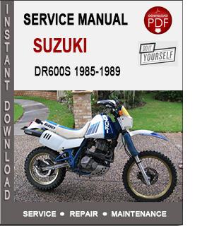 Suzuki DR600S 1985-1989