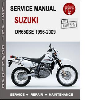 Suzuki DR650SE 1996-2009