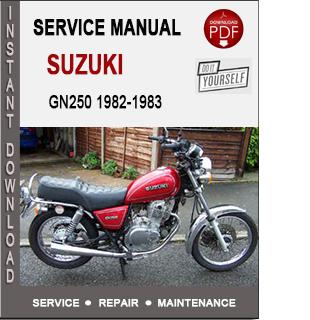 Suzuki GN250 1982-1983