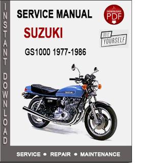 Suzuki GS1000 1977-1986