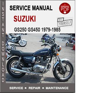 Suzuki GS250 GS450 1979-1985