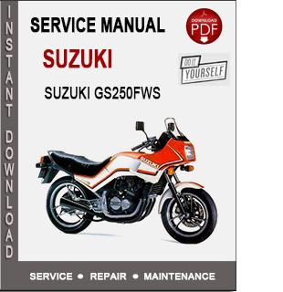 Suzuki GS250FWS 1985-1990