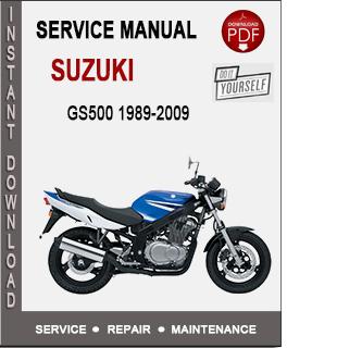 Suzuki GS500 1989-2009