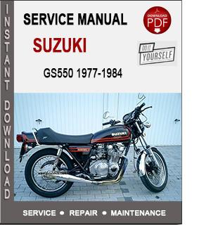 Suzuki GS550 1977-1984