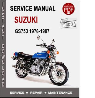 Suzuki GS750 1976-1987