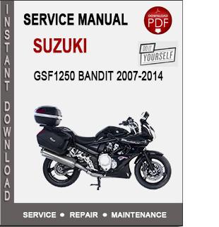 Suzuki GSF1250 Bandit 2007-2014