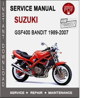 Suzuki GSF400 Bandit 1989-2007