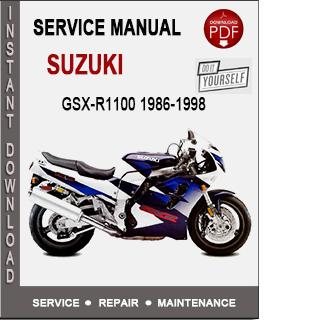 Suzuki GSX-R1100 1986-1998