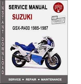 Suzuki GSX-R400 1985-1987