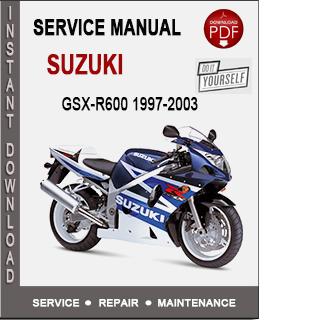Suzuki GSX-R600 1997-2003