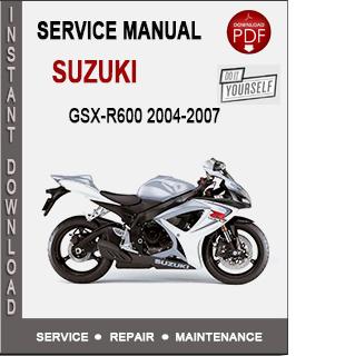 Suzuki GSX-R600 2004-2007