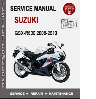 Suzuki GSX-R600 2008-2010