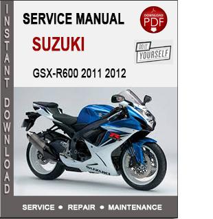 Suzuki GSX-R600 2011 2012