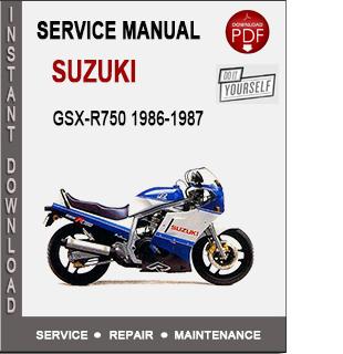 Suzuki GSX-R750 1986-1987
