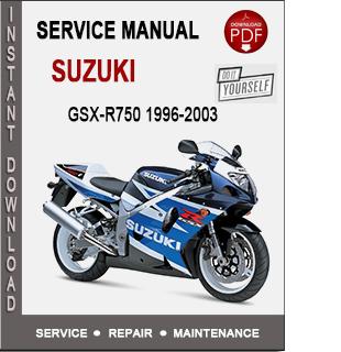 Suzuki GSX-R750 1996-2003