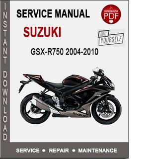 Suzuki GSX-R750 2004-2010