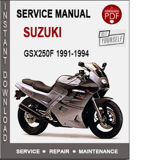Suzuki GSX250F 1991-1994