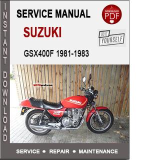 Suzuki GSX400F 1981-1983
