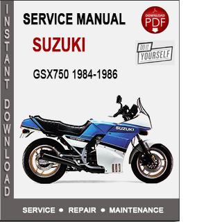 Suzuki GSX750 1984-1986