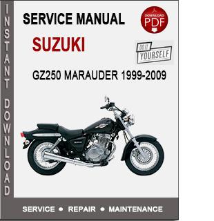 Suzuki GZ250 Marauder 1999-2009
