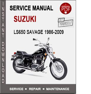 Suzuki LS650 Savage (Boulevard S40) 1986-2009