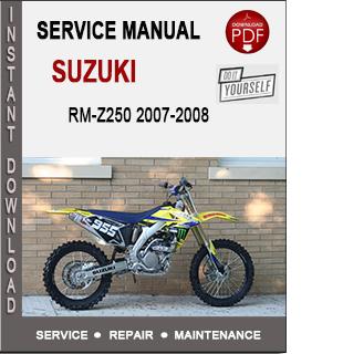 Suzuki RM-Z250 2007-2008