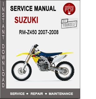Suzuki RM-Z450 2007-2008