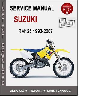 Suzuki RM125 1990-2007