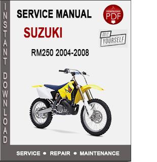 Suzuki RM250 2004-2008