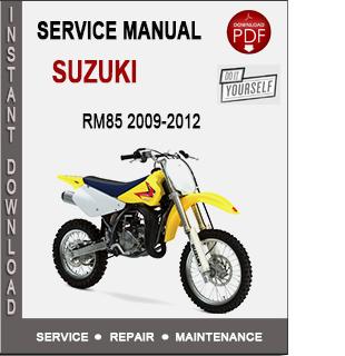 Suzuki RM85 2009-2012