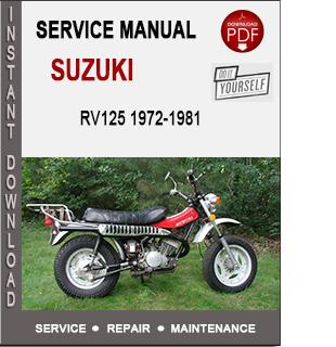 Suzuki RV125 1972-1981