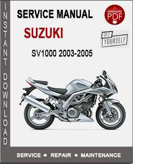 Suzuki SV1000 2003-2005