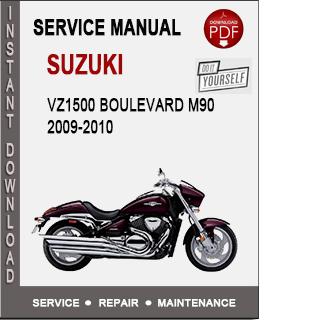 Suzuki VZ1500 Boulevard M90 2009-2010
