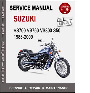 Suzuki Vs800 1985-2009