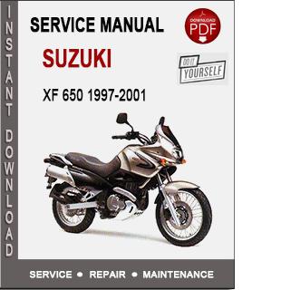 Suzuki XF 650 1997-2001