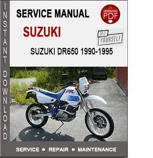 Suzuki DR650 R S 1990-1995