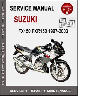 Suzuki Fx150 Fxr150 1997-2003