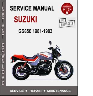 Suzuki GS650 1981-1983
