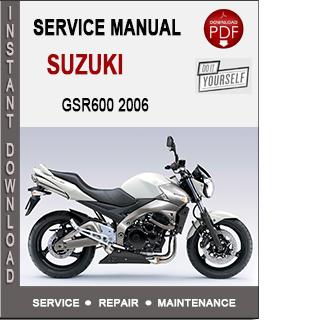 Suzuki GSR600 2006