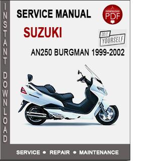 Suzuki AN250 Burgman 1999-2002