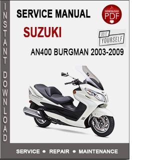 Suzuki AN400 Burgman 2003-2009