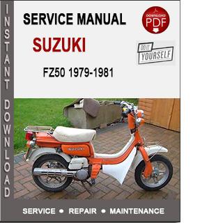 Suzuki FZ50 1979-1981