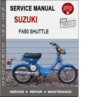 Suzuki Fa50 Shuttle