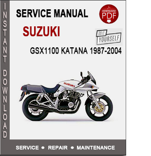 Suzuki GSX1100 Katana 1987-2004