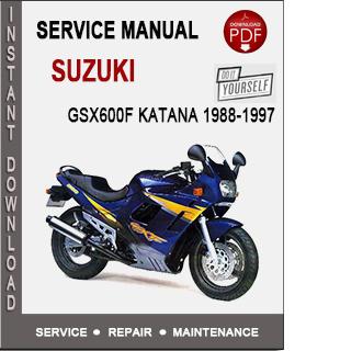 Suzuki GSX600F Katana 1988-1997